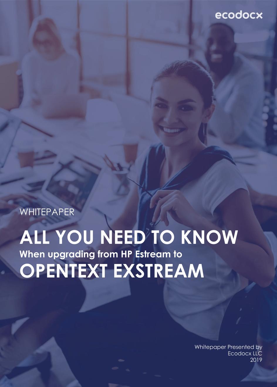 HP Exstream to OT Exstream (Brochure)